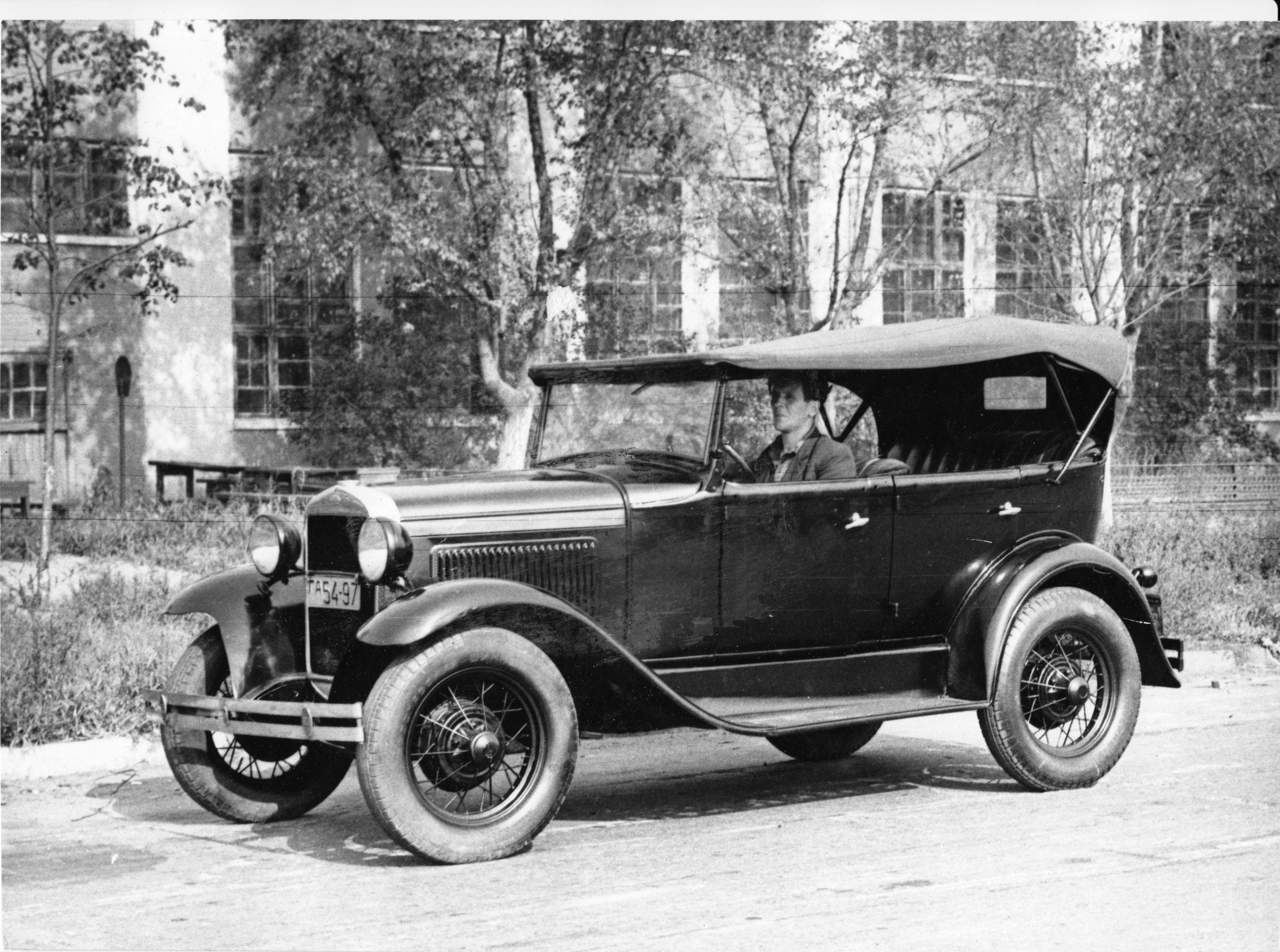 ГАЗ-А / GAZ-A (1932 >1936): the first mass-produced passenger car ...