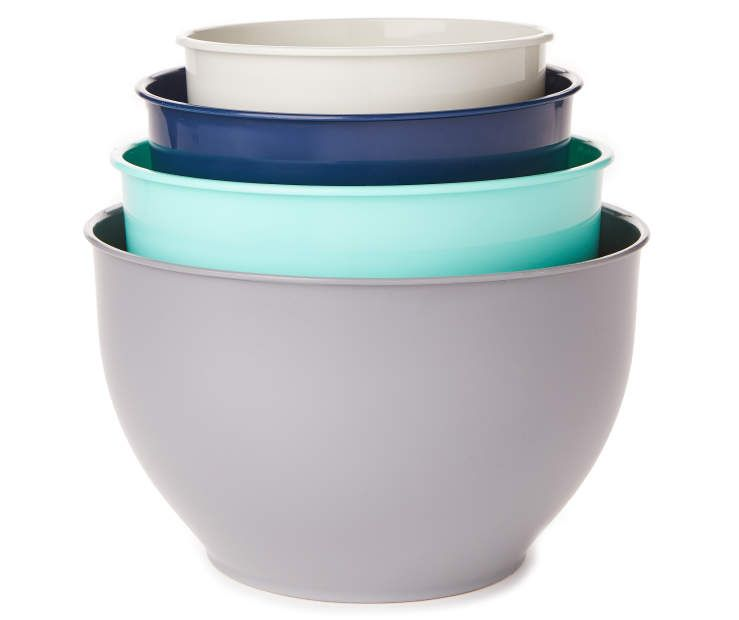 Great Gatherings Classic Multi Color 4 Piece Mixing Bowl Set With Images Mixing Bowls Set Bowl Set Bowl