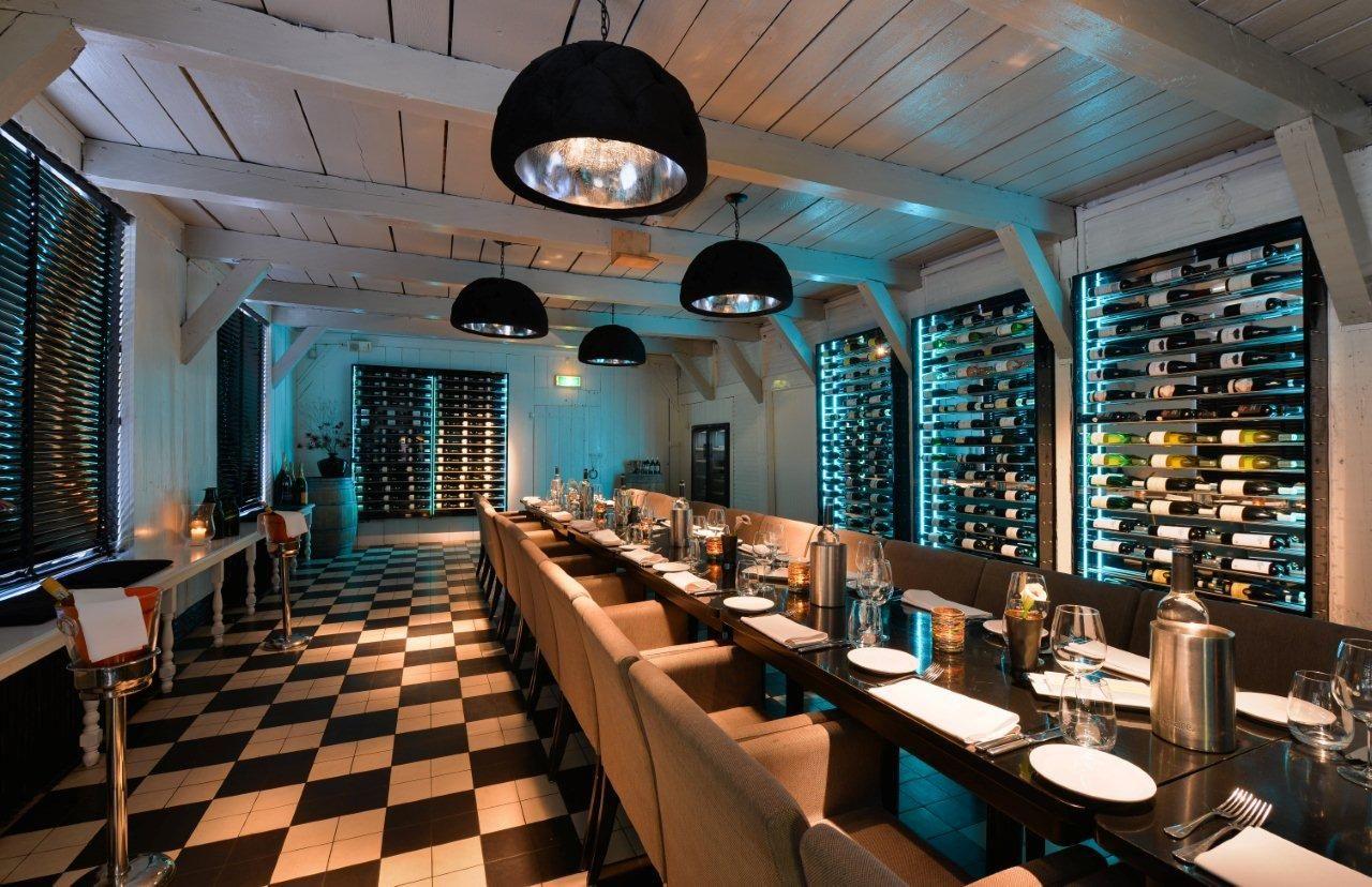 wijn verbouwing restaurant vlaar s graveland architectuur interieur