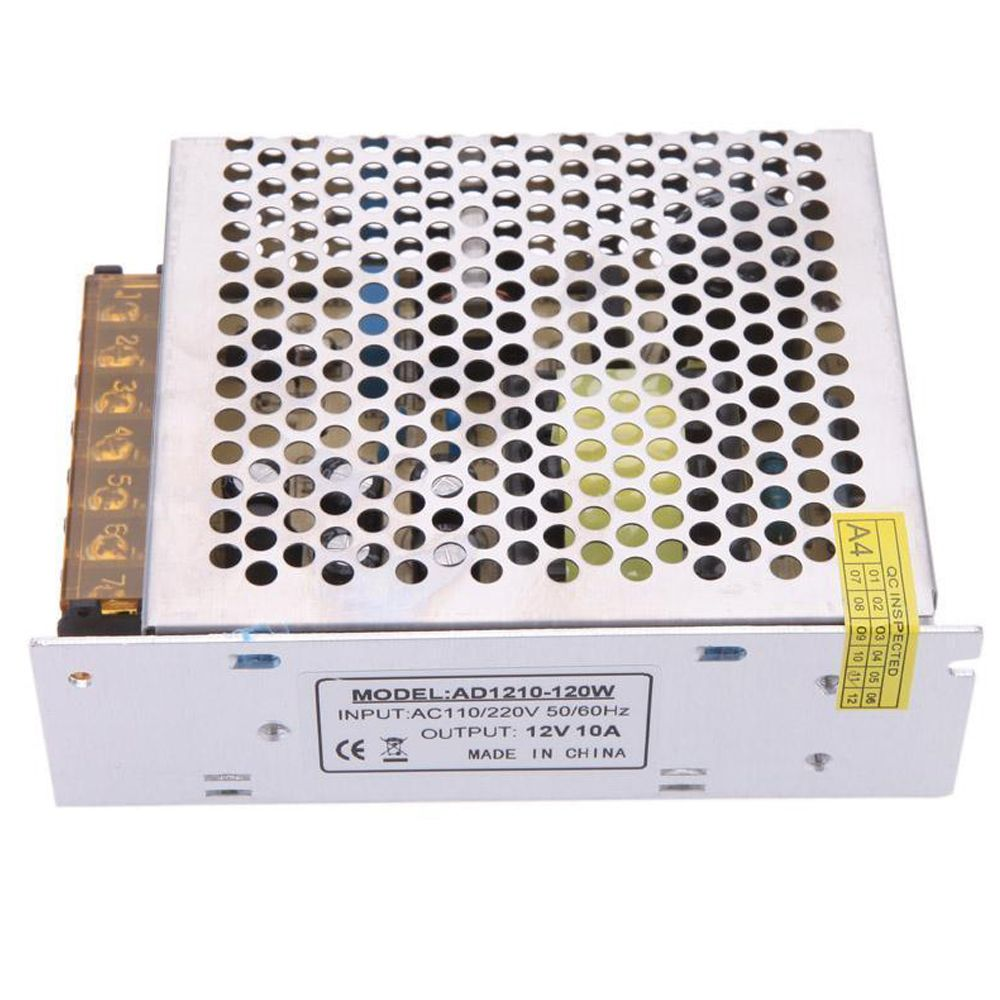 Ac 110 220v To Dc 12v 10a 120w Voltage Transformer Switch Power Supply New Power Supply Cool Things To Buy Power