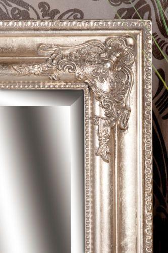 Spiegel Wandspiegel Antik Silber Zita 90 X 70 Cm Spiegel