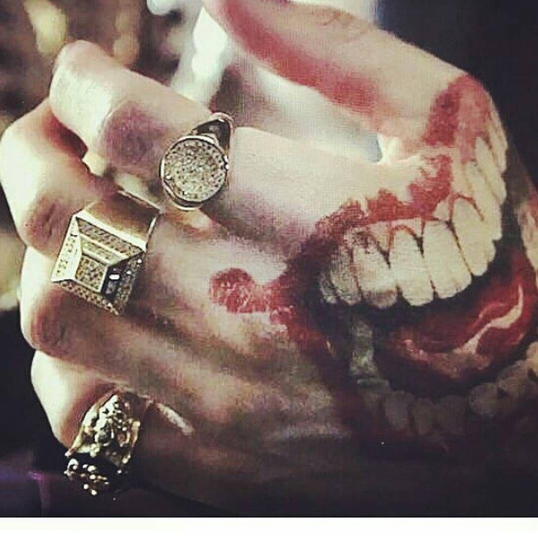 Someday I Will Get This Tattoo Joker Smile Hand Tattoo