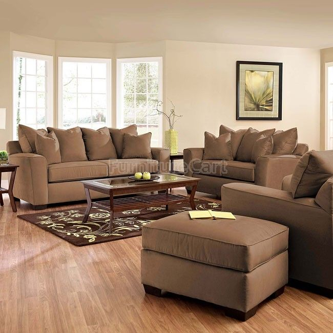 Heather Living Room Set (Chocolate)   Dream Rooms in 2019 ...