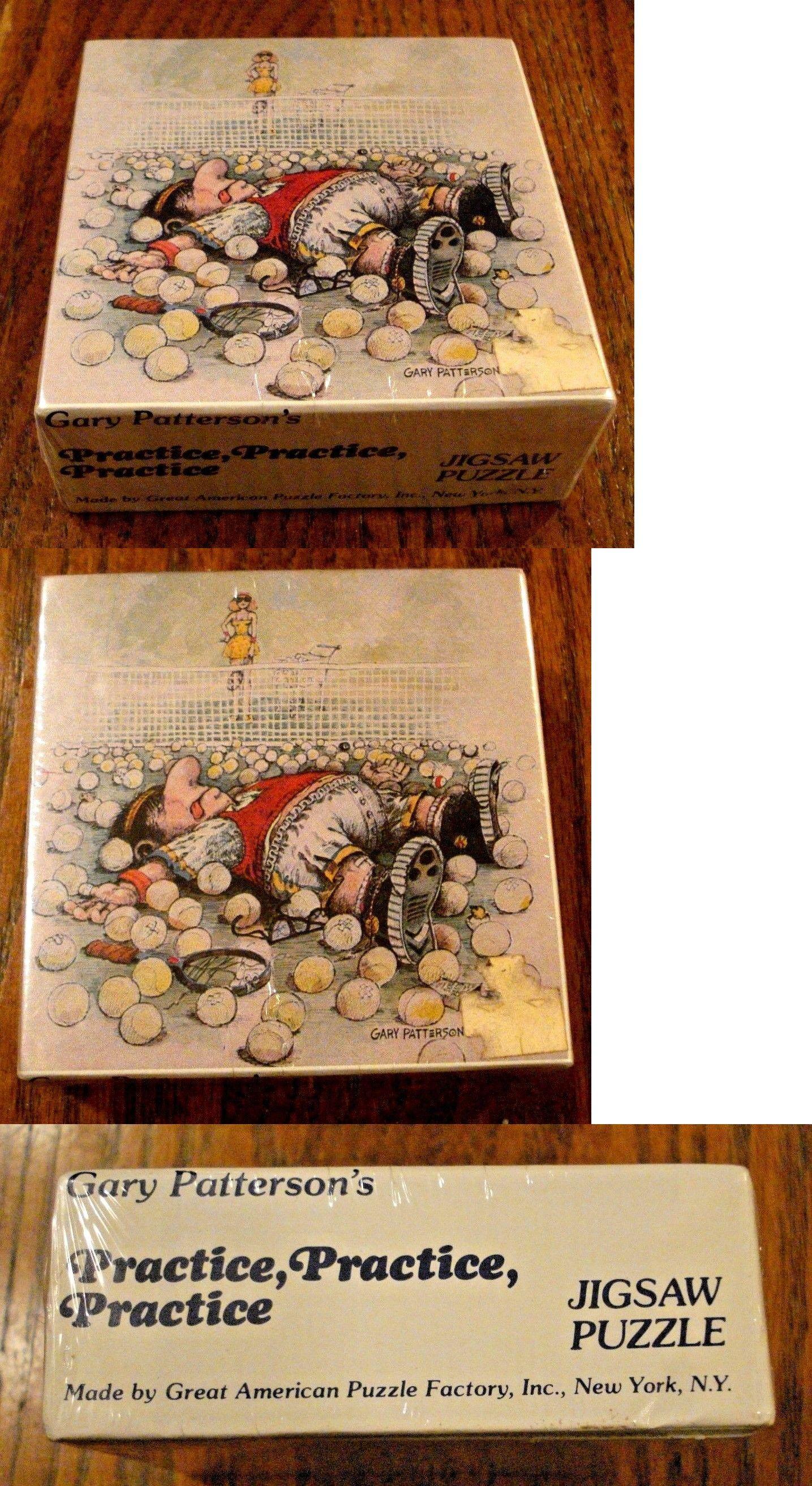 Jigsaw 19183 1980 Gary Patterson Mini Jigsaw Puzzle 100Pc