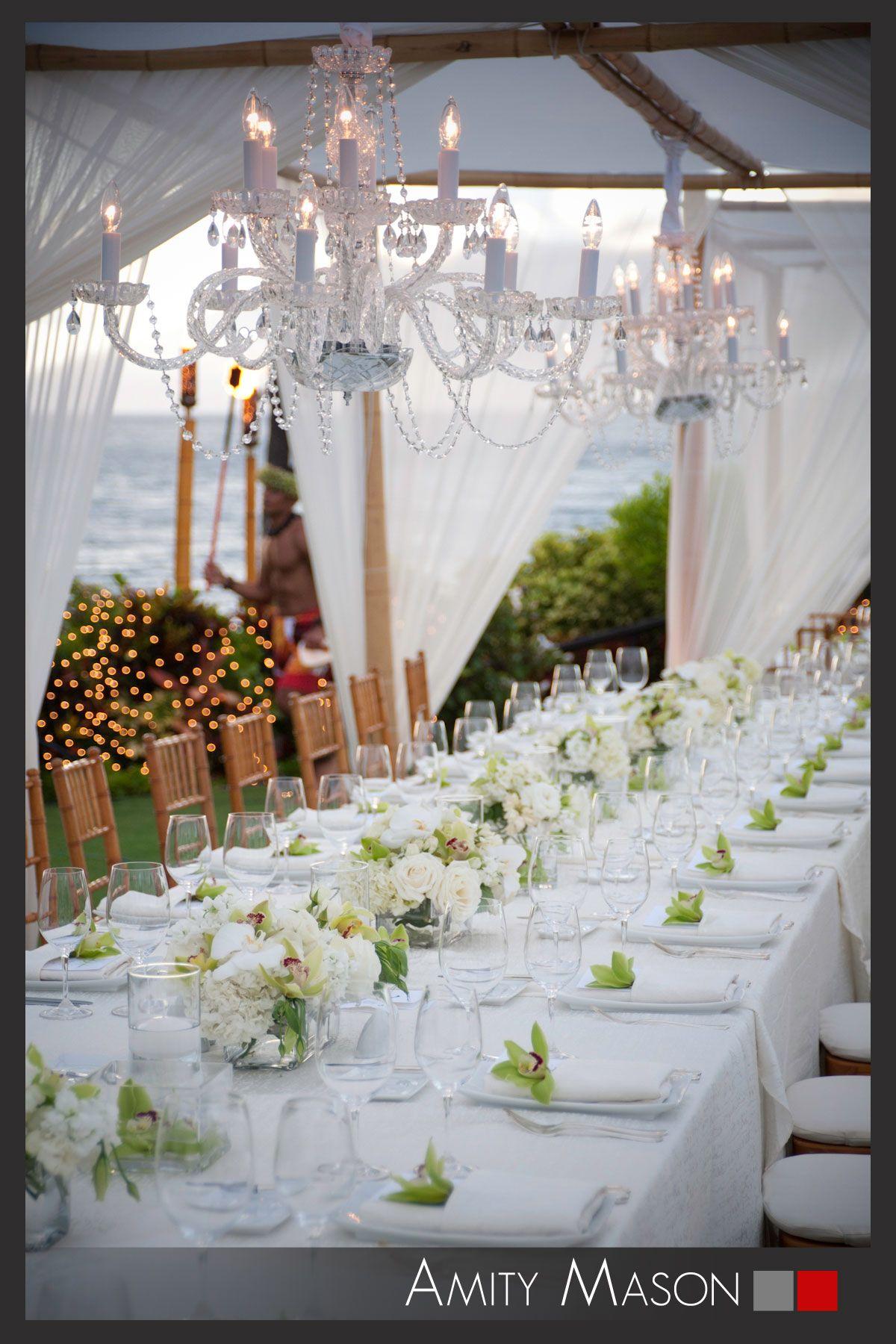 Tropical Elegance   Beautiful Tables   Pinterest   Maui weddings ...