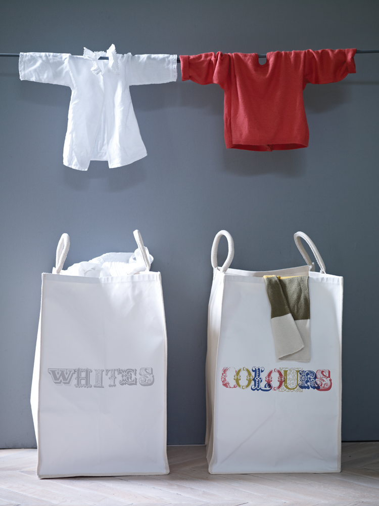 Laundry Bags And Baskets Part - 24: Whites Laundry Bag - Storage - Kitchen U0026 Dining - Home