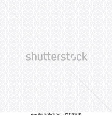 Seamless subtle gray isometric hexagon pattern vector