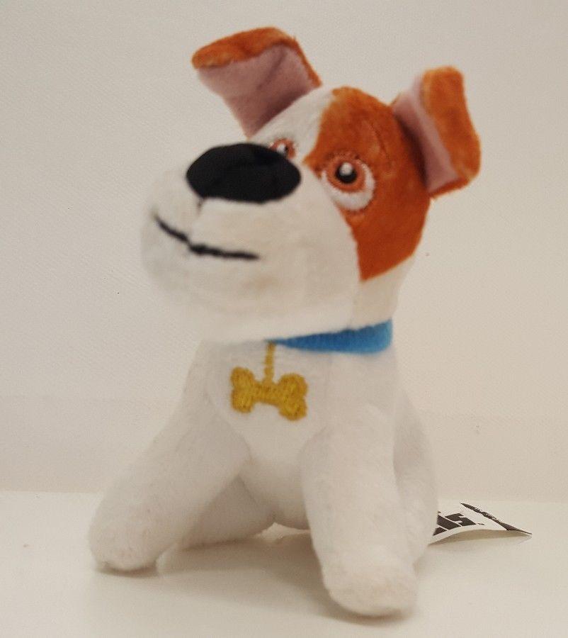 Max Secret Life Of Pets Stuffed Plush Dog Universal Studios Mcdonalds Toy Puppy Mcdonalds Toy Puppies Plush Dog Secret Life Of Pets