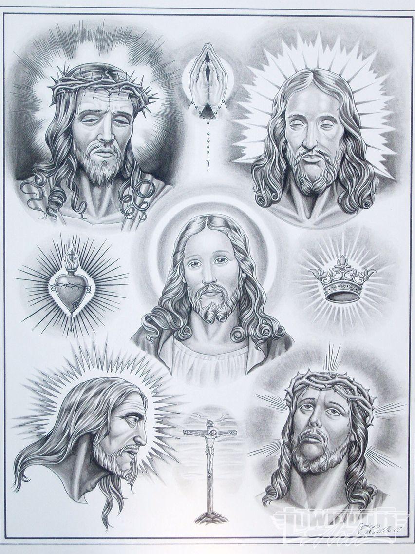 любой картинки рисунки тату религиозные отдельной емкости смешать
