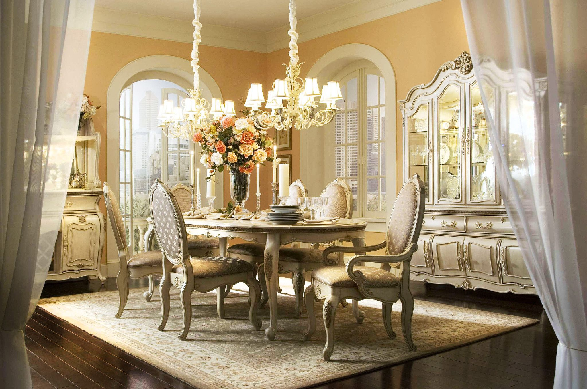 Michael Amini Dining Sets Home Products Lavelle Five Piece