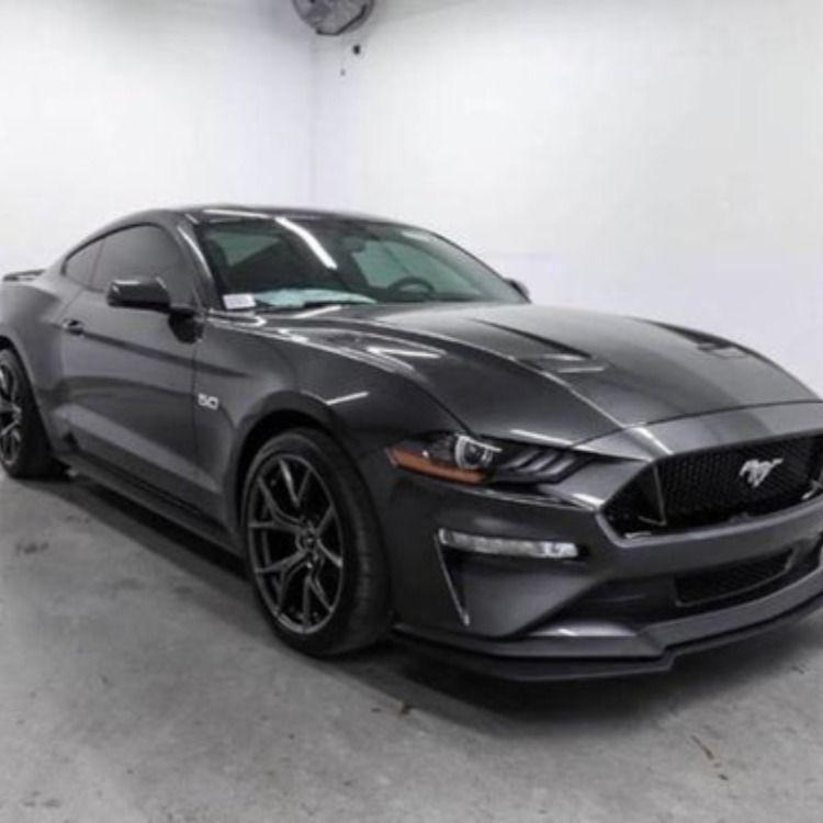 2020 Ford Mustang Gt Premium In 2021 Black Mustang Black Mustang Gt Ford Mustang