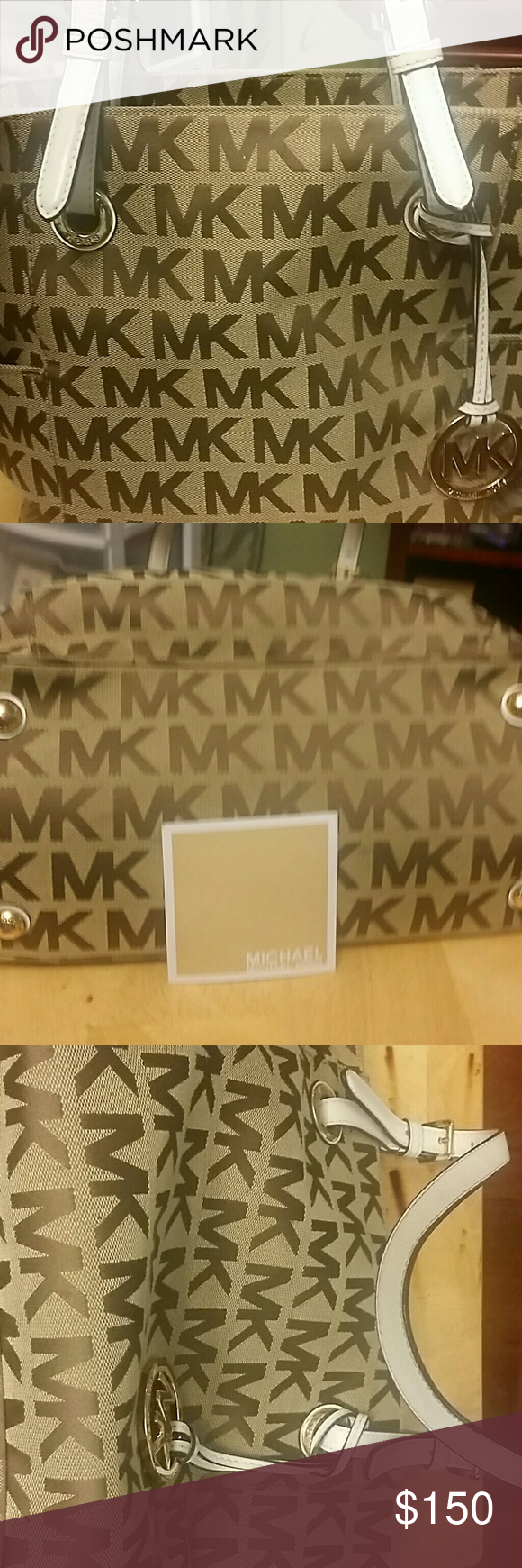 Michael Kors authentic Large used maybe 5 times handbag, no stains or tears Bags Shoulder Bags