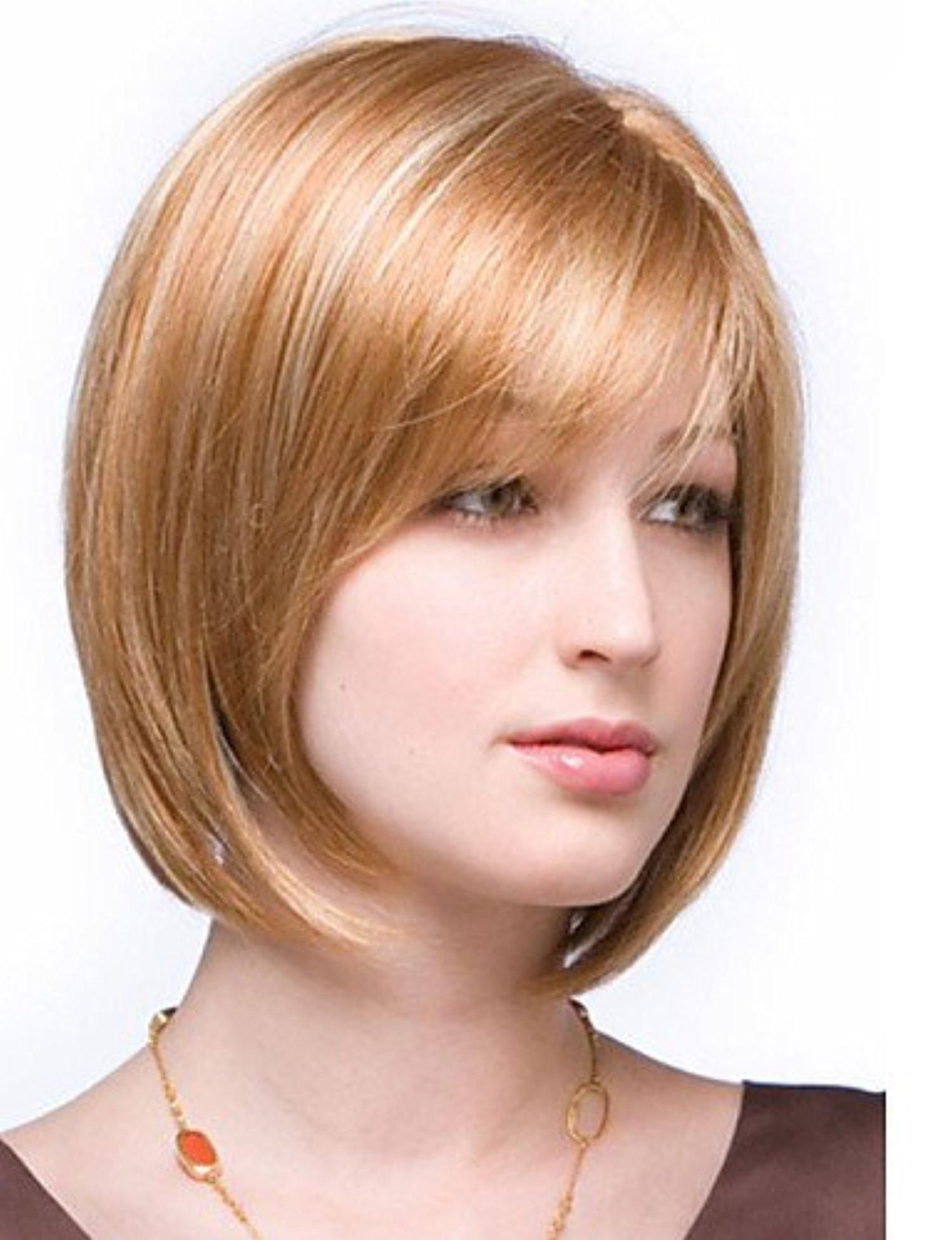 Best sell short straight hair european weave mix color hair wig with