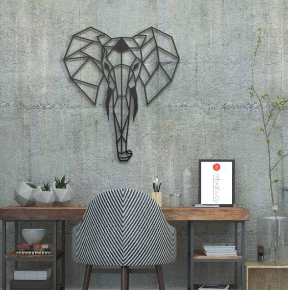 Notre éléphant en métal pour une décoration murale design signée artwall and co décoration murale métal artwall and co pinterest squares