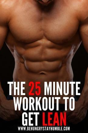 Get lean and burn fat with this 25 minute high intensity conditioning workout. If you want to mainta...