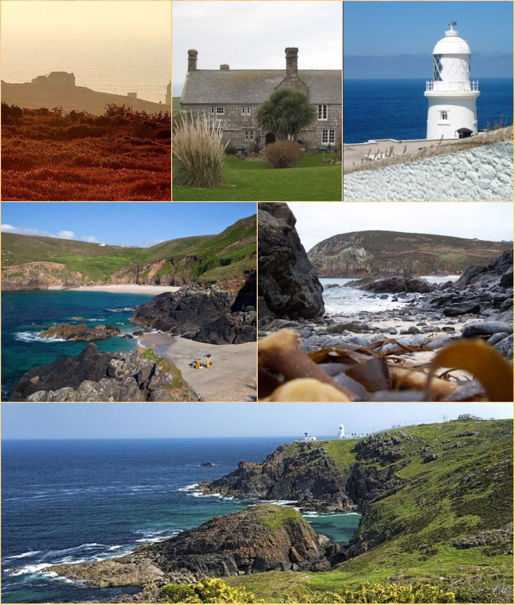 Pendeen (from Cornish: Penn Din, otherwise known as Boskaswal Wartha) is a village on the Penwith peninsula in Cornwall. It is 3 miles (4.8 km) north-northeast of St Just and 7 miles (11.3 km) west of Penzance. It lies along the B3306 road which connects St Ives to Land's End and the A30 road. The village has a community centre, a shop, a post office, a primary school, and a few small businesses. Community activities include an art club, a gardening club, silver marching band and a football…