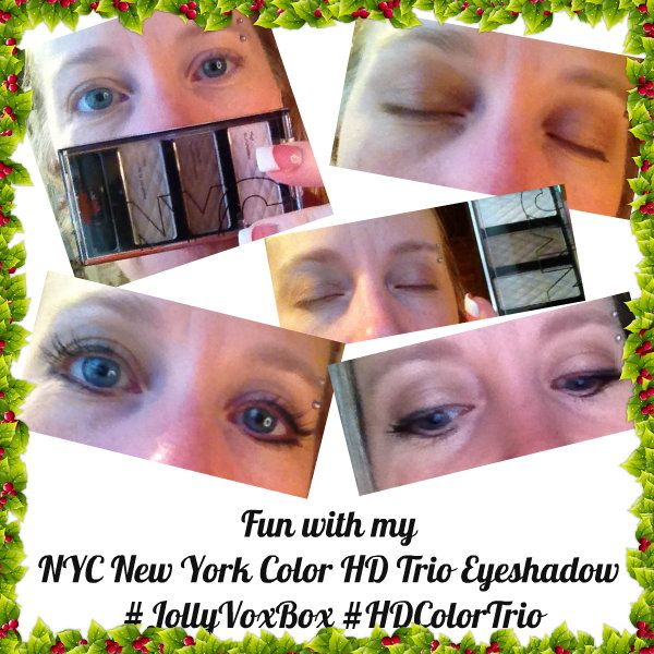 Looking for some fun beauty products?  Check out what I got for my eyes in the #JollyVoxBox from #HDColorTrio