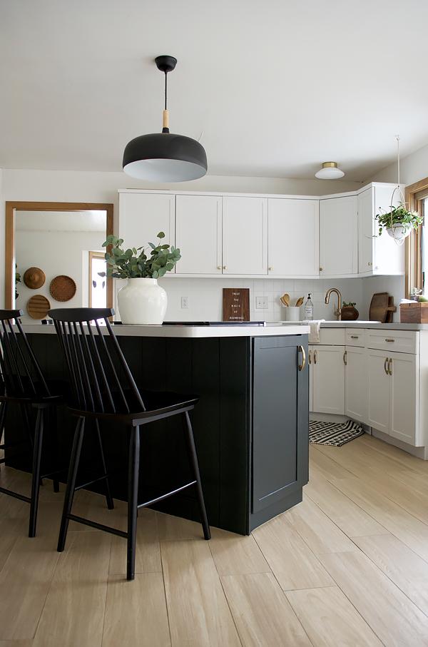 Kitchen Cabinet Refresh with BEHR | brepurposed | Kitchen ...