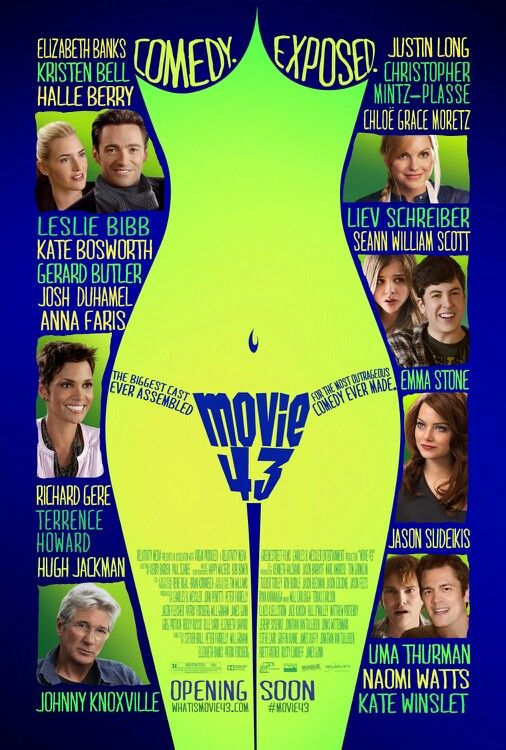 Movie 43 takes the cake for most messed up movie of all time... ahaha