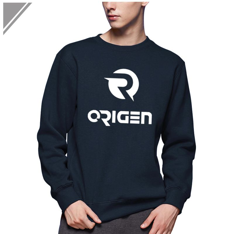 Funny DOTA2 OG ORIGEN Gaming Team Winter Dress Camiseta Men's Sweatshirt Jersey Casual O-Neck Cotton men patchwork Hoody XXL