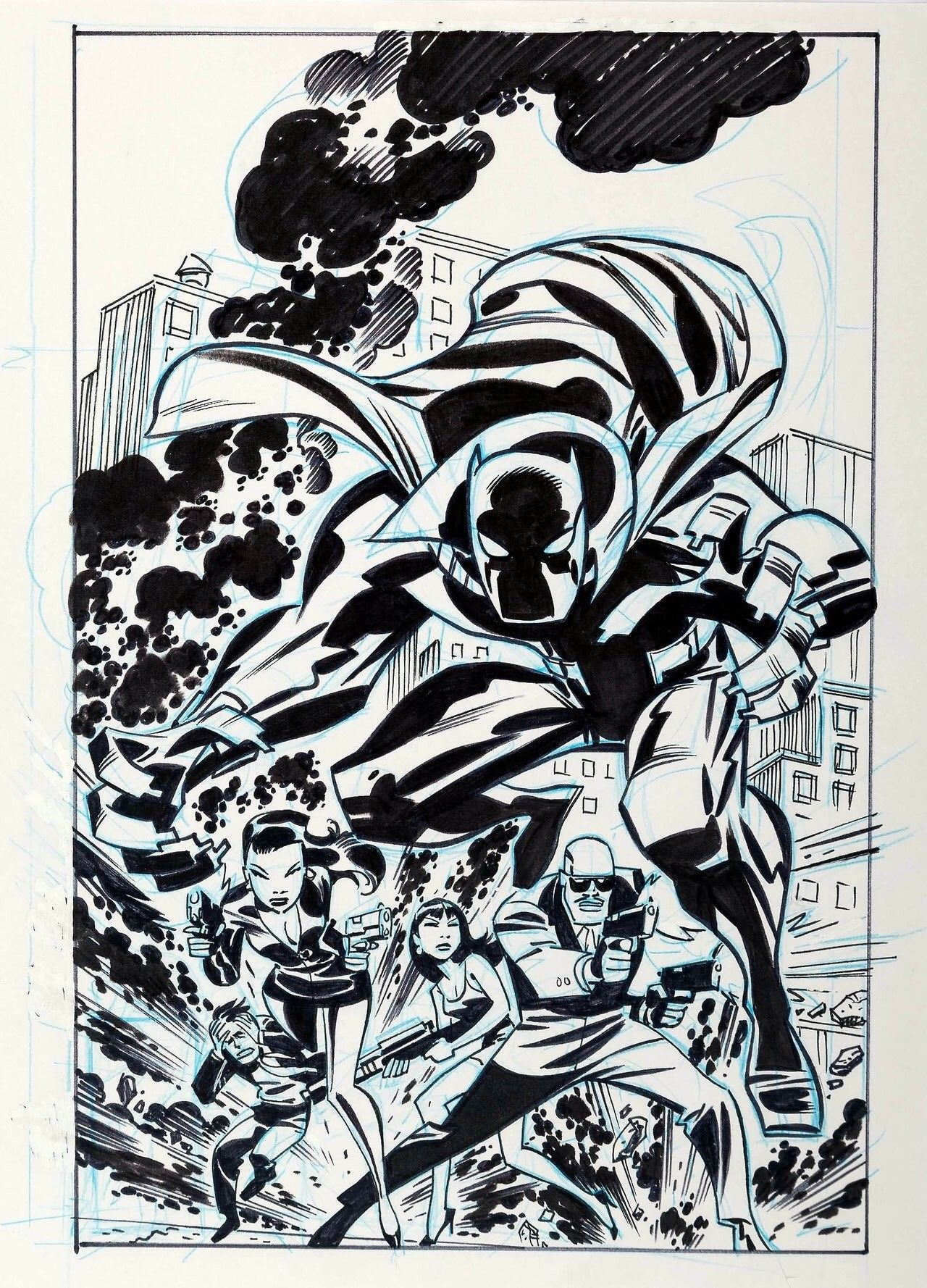 Black Panther - Bruce Timm   Bruce Timm   Pinterest   Afro, Fantasía ...