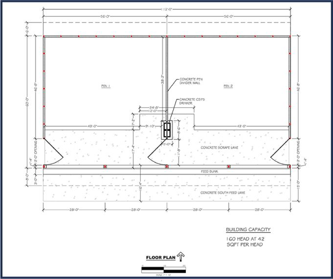 Floor Plan How To Plan Floor Plans Cattle Farming
