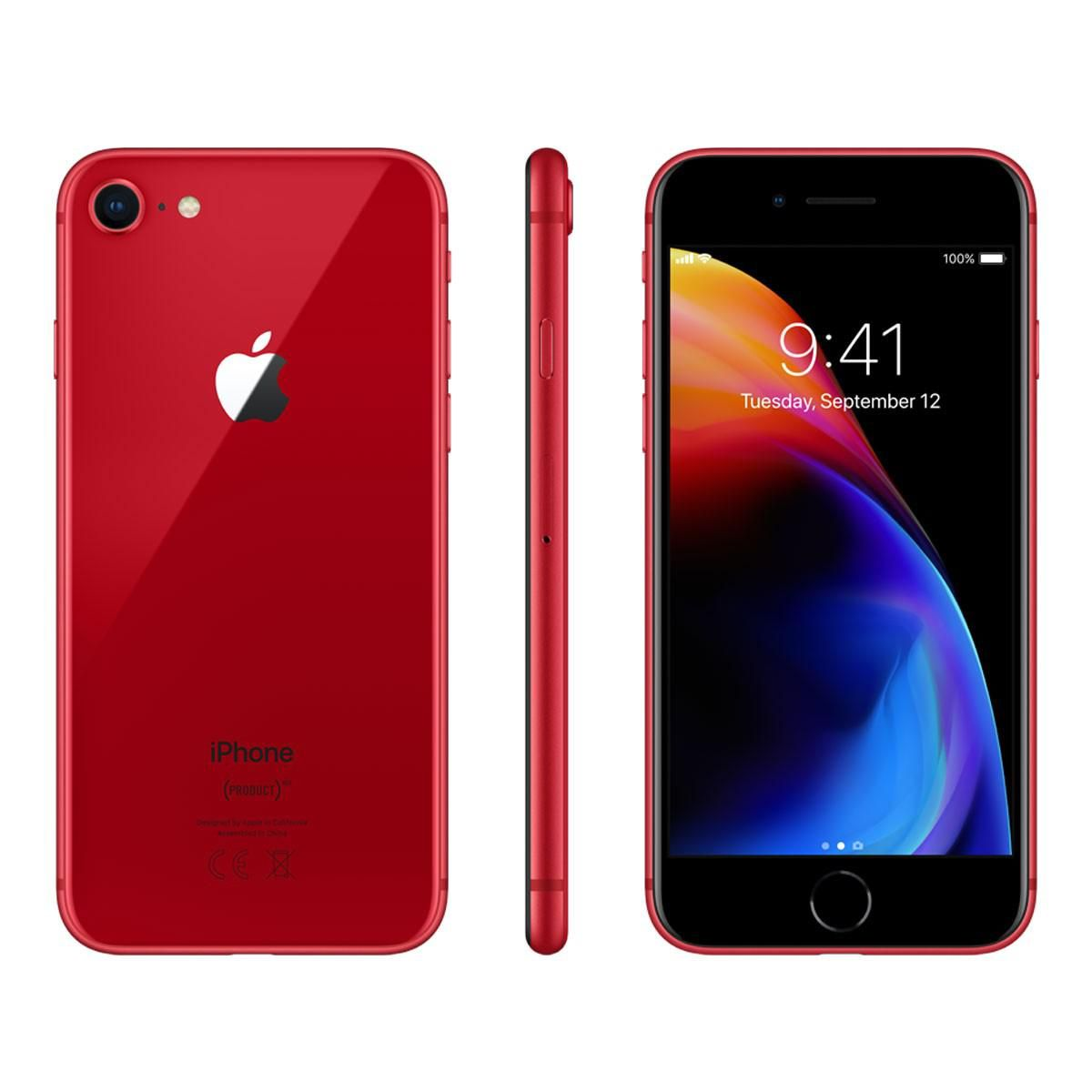 Iphone 8 64gb Product Red T Mobile Iphone Apple Iphone T Mobile Phones
