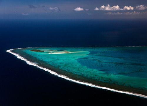 Maina Island, Aitutaki Lagoon, Cook Islands by Michael Anderson