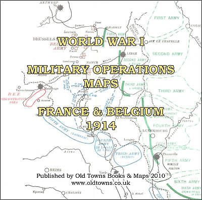 34 old wwi world war 1 maps 1914 france belgium on cd r view 34 old wwi world war 1 maps 1914 france belgium on gumiabroncs Choice Image