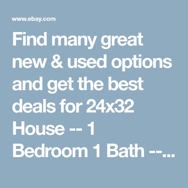 Detalles Acerca De Casa De 24x32 -- 1 Dormitorios 1 Baño