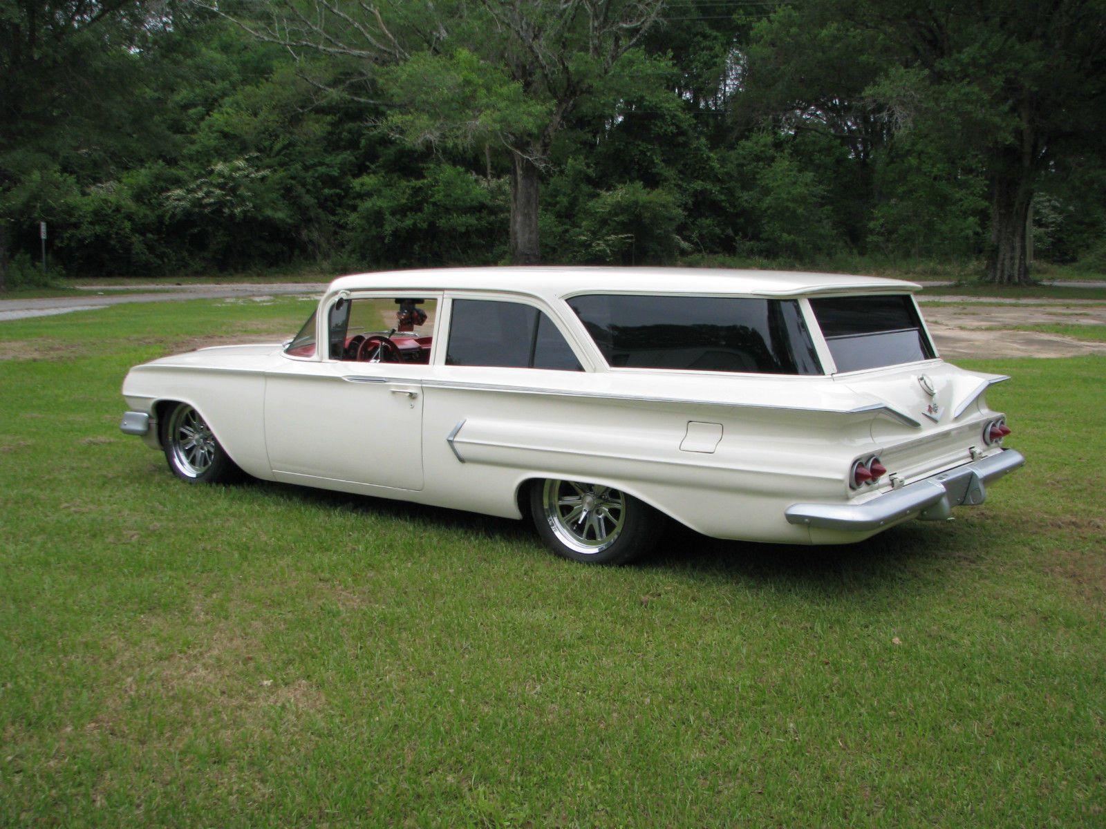 1960 Chevrolet Brookwood Station Wagon 2 Door Station Wagon Cars