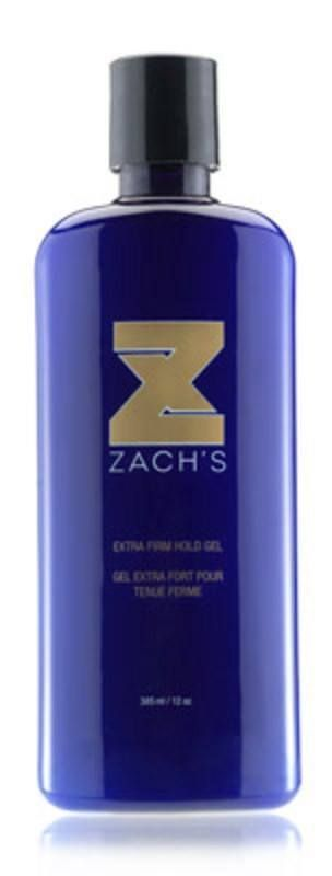 ZACHS WAX EXTRA FIRM HOLD GEL-CLEAR 12 OZ