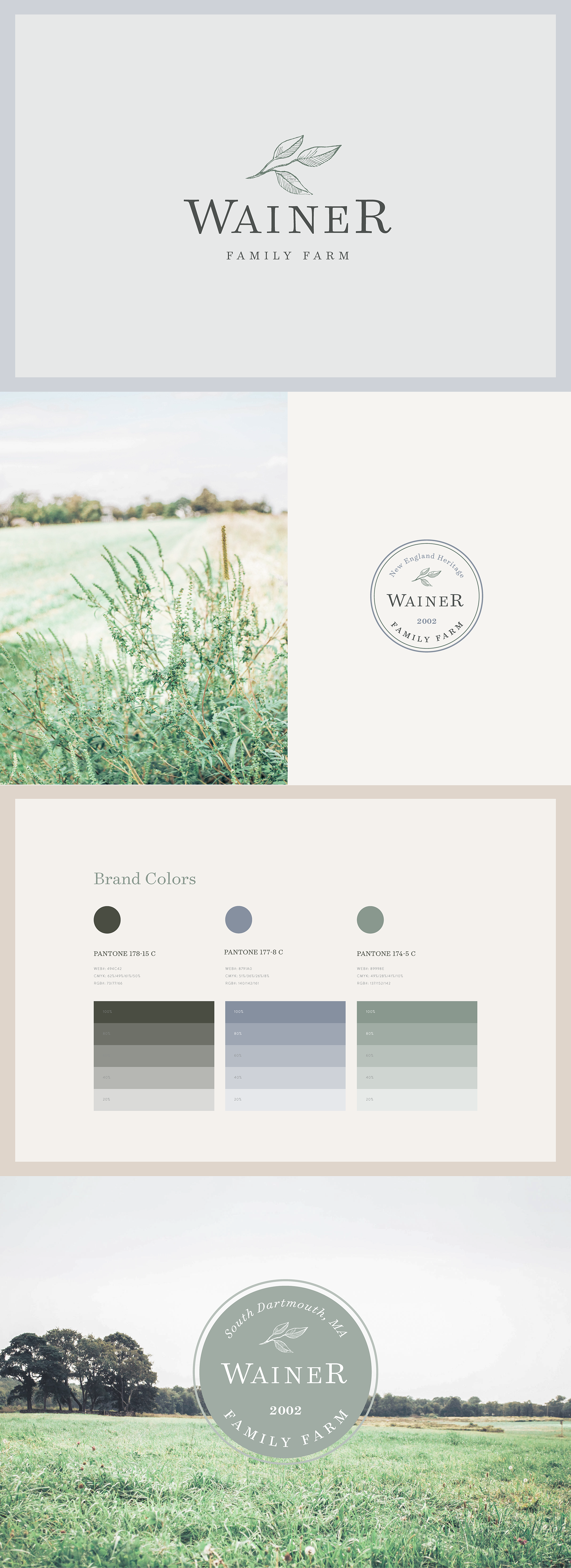 Wainer Family Farm Brand Launch