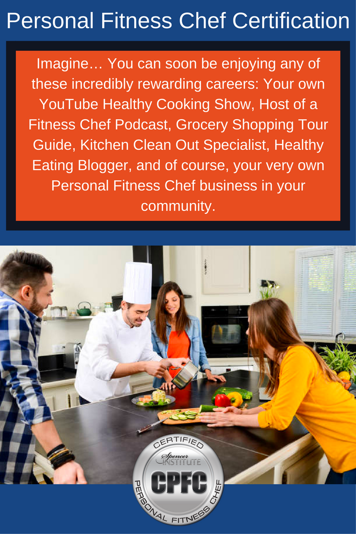 Personal Fitness Chef Certification Personal Training Pinterest
