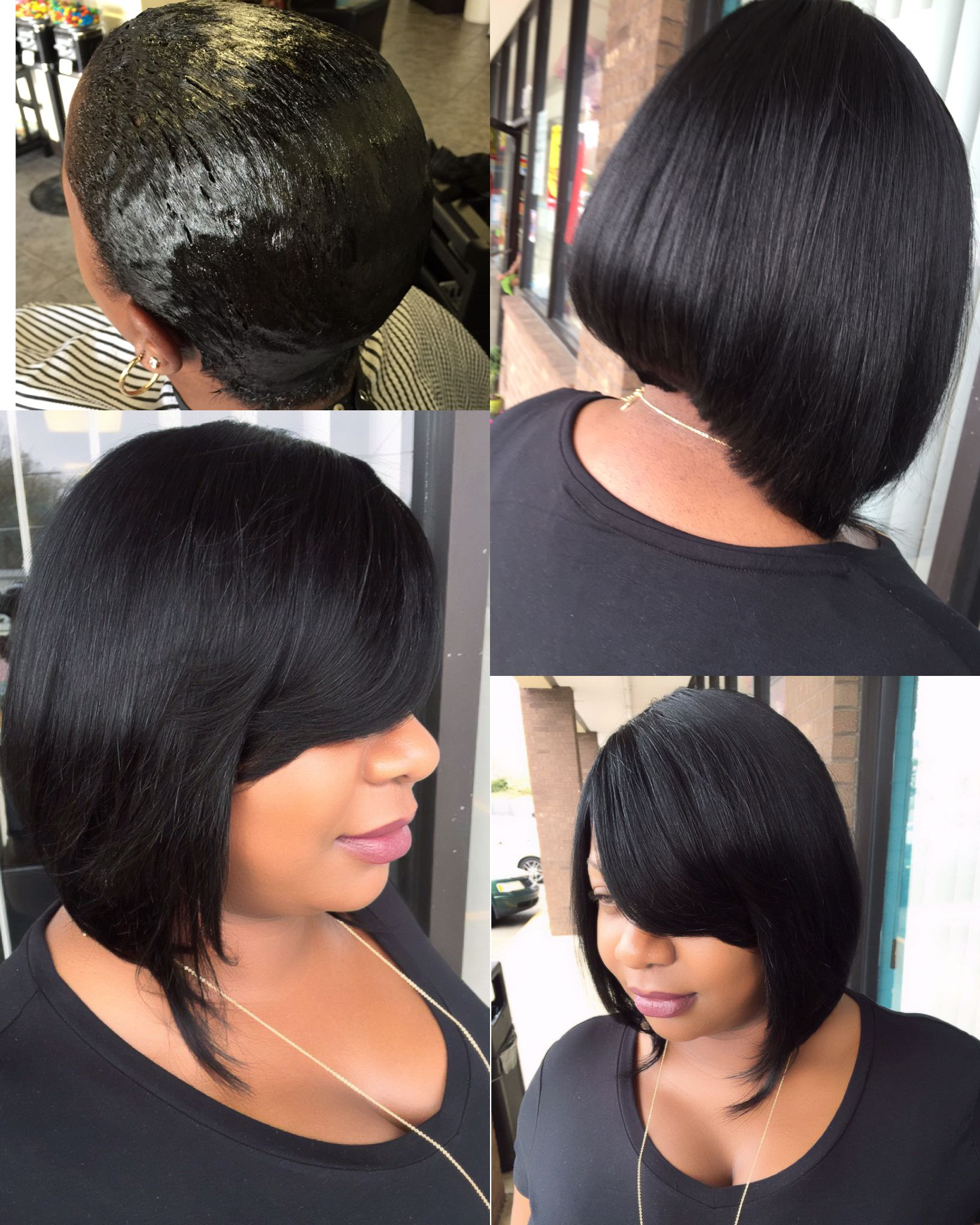 Quick Weave Bob Nc Stylist Salon Owner Available For Commercial Print Tv Editorial God Follower By His Grace 336 Quick Weave Bob Hair Studio Hair Laid