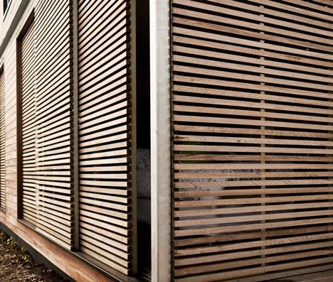 This Wood And Steel House By Melbourne Studio Architects