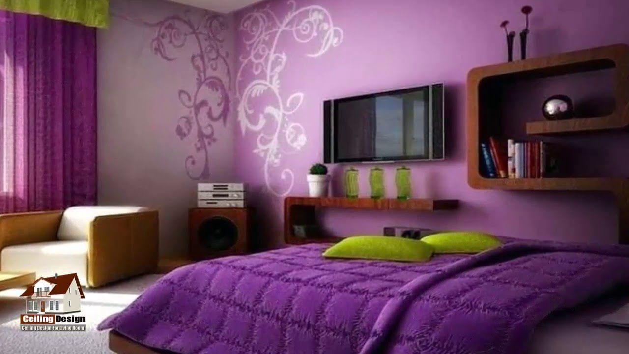 Top 70 Photos Inspiration Purple Design Bed Room Colour Combinat Purple Rooms Purple Bedrooms Bedroom Design Violet color bedroom ideas