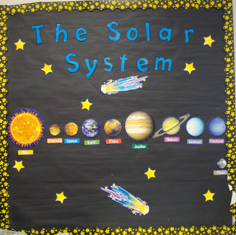 Solar System! | Classroom bulletin boards, Solar system