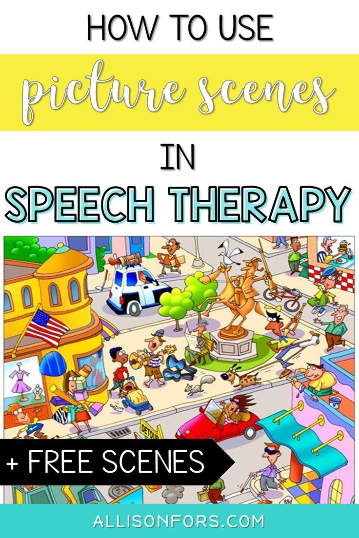 How to Use Picture Scenes in Speech Therapy (+ free scenes ...