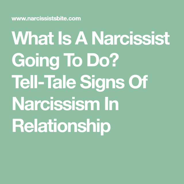 How to tell if you are hookup a narcissist