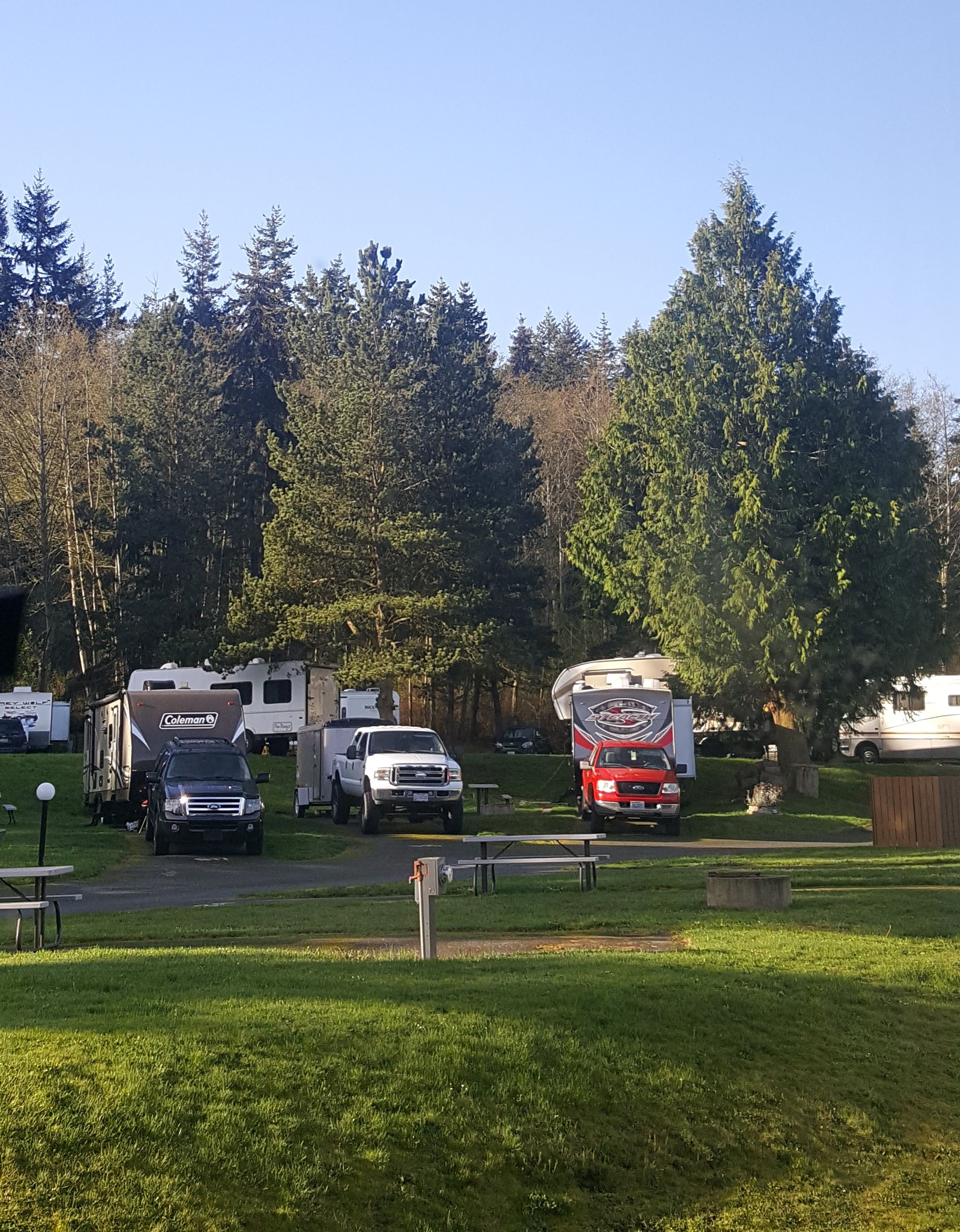 North Whidbey Rv Park Oak Harbor Washington Great Campground At Deception Pass Near Oak Harbor And Short Drive To Burlingto Rv Parks Vacation Trips Park