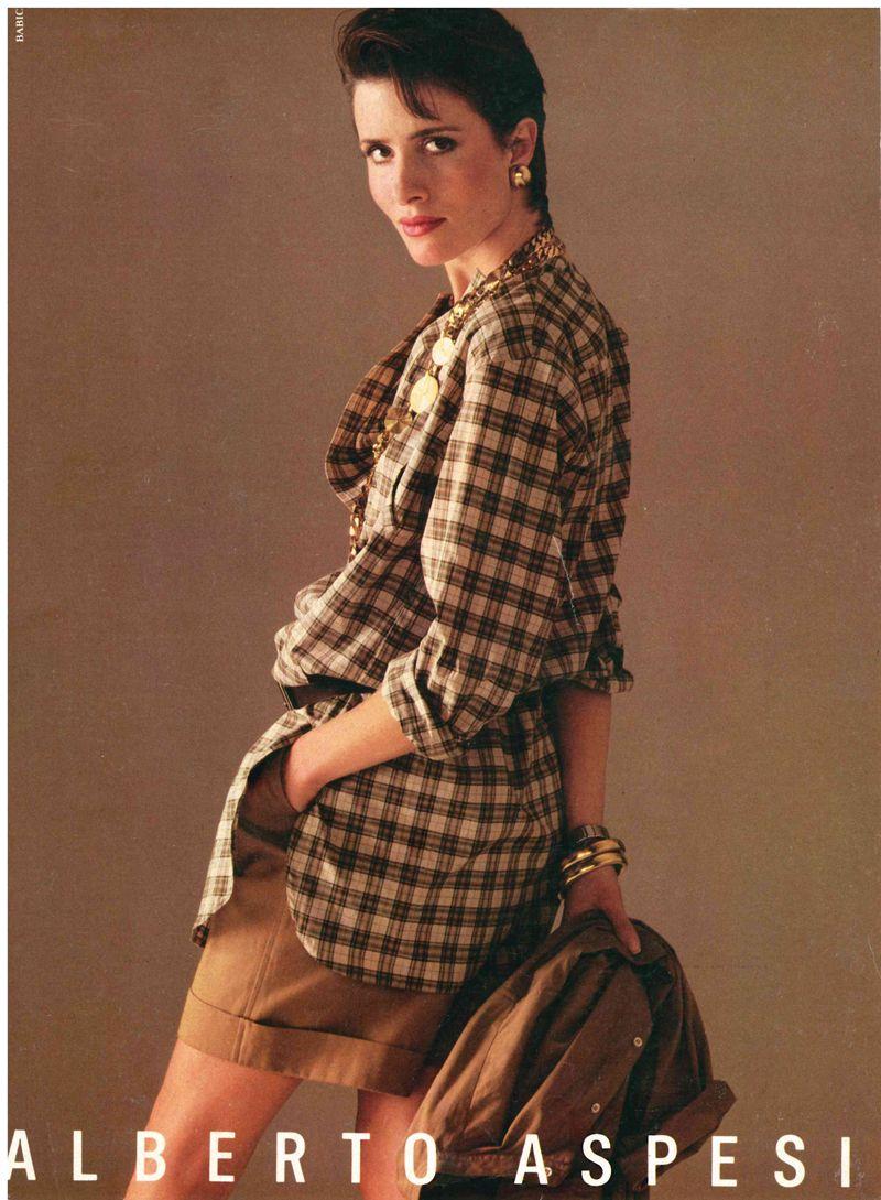 official photos 5d59b fad3f Robin Osler, Alberto Aspesi fashion advertising campaign ...