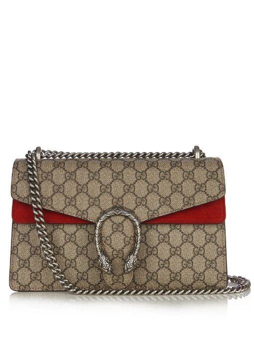 Gucci Dionysus Gg Supreme Medium Shoulder Bag Bags Lining Canvas Suede
