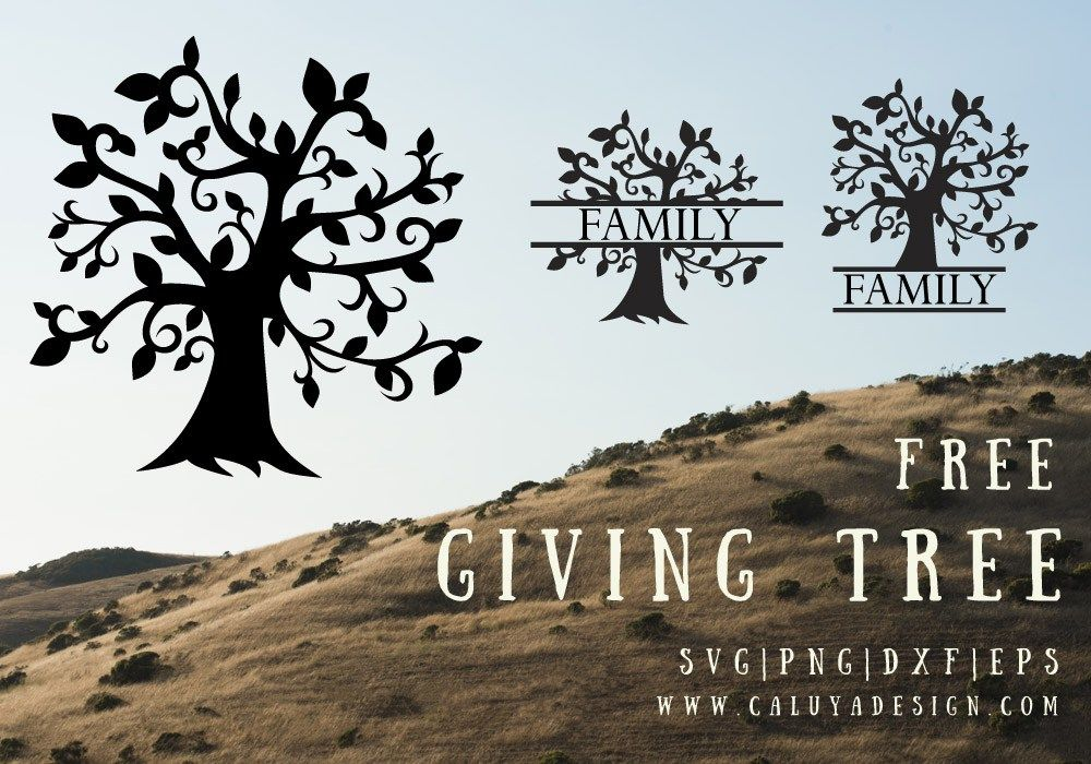 Giving Tree Free SVG, PNG, DXF, EPS Download Tree svg