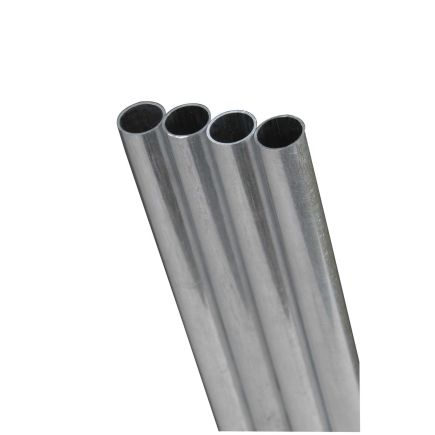 K S 9 32in X 36in Round Metal Aluminum Tubes 5 Pack Ace Hardware Stainless Steel 304 Aluminum Metal Stainless Steel Tubing
