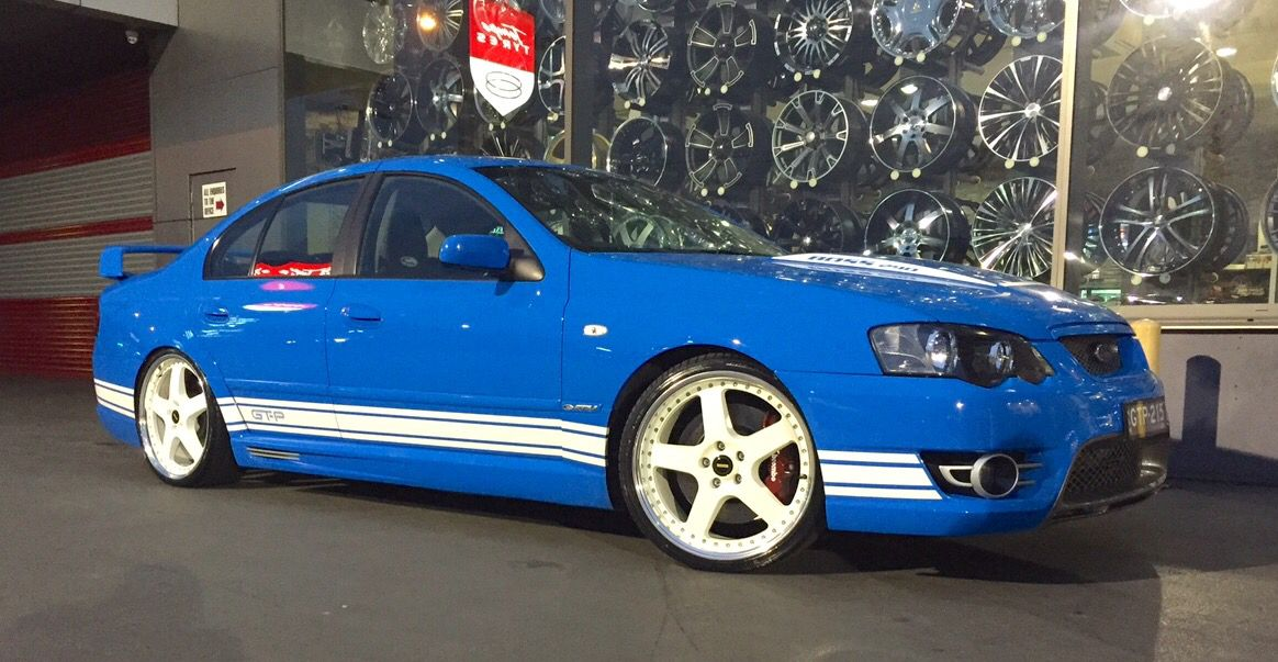 Ford Bf Gt P 20 Simmons Modern Muscle Cars Australian Muscle
