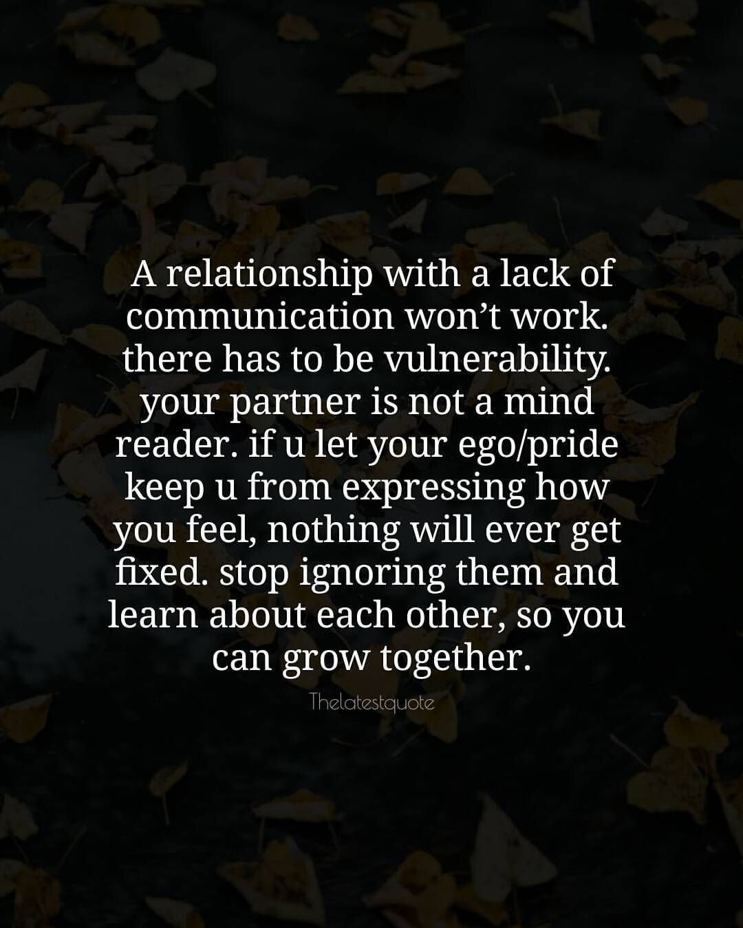 Lack Of Communication Quote