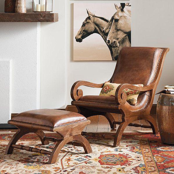 Augusto Chair And Ottoman Chair Ottoman Chair Furniture