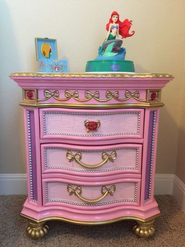 Disney Princess Furniture Redo