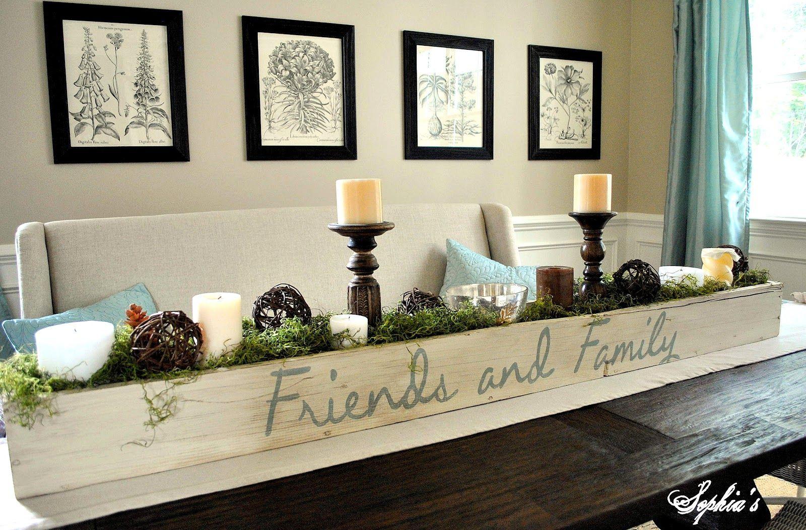 Centerpiece Farmhouse Table Centerpieces Planter Box Centerpiece Table Centerpieces Diy